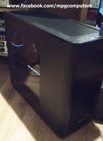 Gaming PC i7-5820K,X99,GTX1070, 16GB DDR4, Penta cooler, 120GB SSD, 2TB hdd,gold PSU, Fractal case..