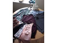 LARGE BUNDLE OF WOMENS CLOTHES SIZE 12-14 BARGAIN!