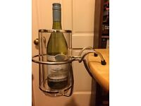 Wine/Champagne Cooler & Table Mounted Holder by The Chic Set £15.00