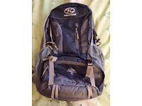 Highlander Hiker 30 Backpack/Rucksack As New Never Used Bought Wrong Size