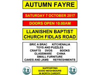 Autumn Fayre by Good Neighbours in North Cardiff