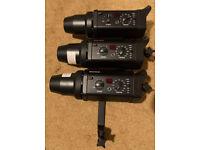 Bowens Studio Lighting kit 3x Gemini 500R +