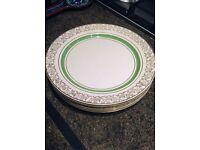 Vintage Dinner Plates – Set of 6