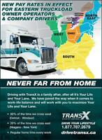 AZ OWNER OPERATORS - NEW RATES!!