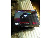 Motherboard MSI Z270 Carbon