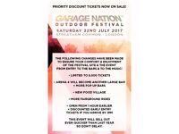 1 Garage Nation & One Dance Festival Ticket