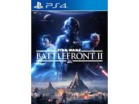 Star Wars battlefront 2 PS4 like new