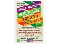 Single Muslim Marriage Networking Event for Doctors, Dentists, Pharmacists, Optometrists and more