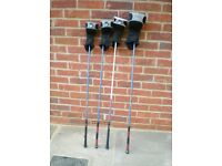 Ladies Golf Clubs. Set of four Ping Metal 'Woods' in excellent condition.