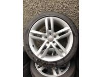 "18"" Audi A4 S Line Alloys 5x112 Fully refurbed"