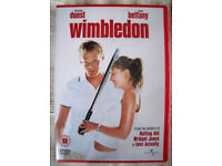 NEW & sealed in cellophane packaging WIMBLEDON DVD with Kirsten Dunst & Paul Bettany.