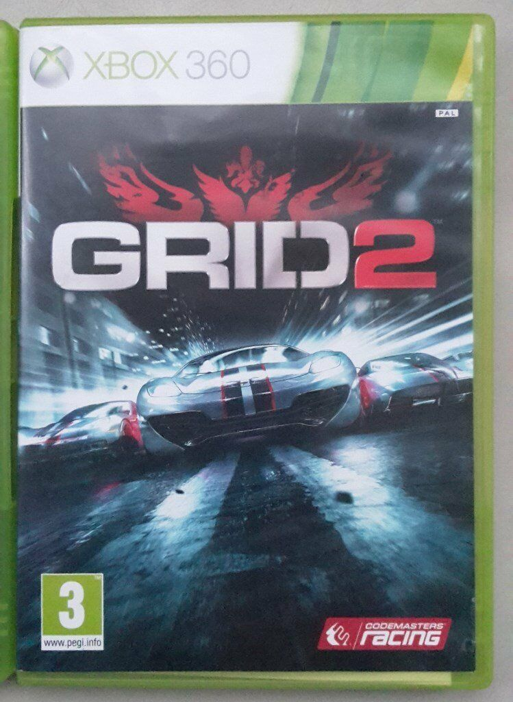XBOX 360 game Grid 2  Racing game: Race Day edition  Great Easter