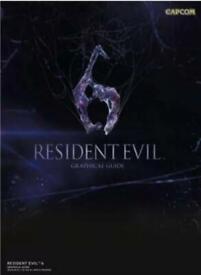 Resident Evil 6: Graphical Guide, Motoko Tamamuro,Capcom,Noriomi Ito New And Sea