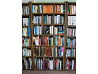 BOOKCASE varied shelf height x1 library Reclaimed wood booklover books gplanera