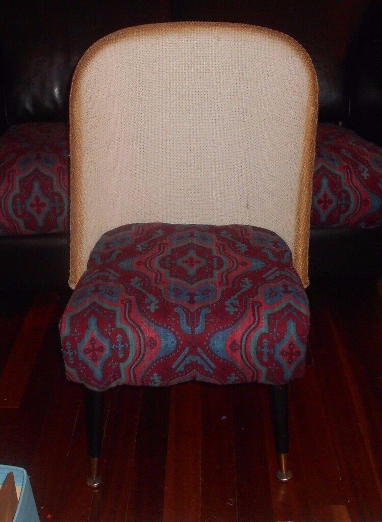 Small Wicker (Lloyd Loom) Chair.