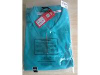 SLAZENGER Short Sleeve Polo Shirt Ceramic Blue - 4XL