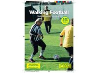 OVER 35? LOVE FOOTBALL? Walking Football Players Needed.