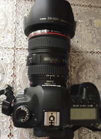 CANON EOS 5D MARK II DSLR CAMERA BODY PLUS CANON 24-105MM F/4. iS USM LENS EXCELLENT CONDITION
