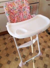Mothercare unicorn high chair