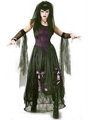 Black Widow Spider Costume (Goth Black Widow Spider Princess Adult Costume)