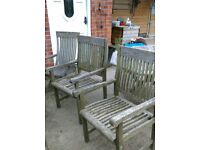 Wooden garden furniture FREE
