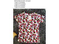 Disney Minnie Mouse Tshirts