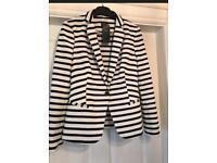 Marks & Spencer stripped blazer NEW size 8 💕