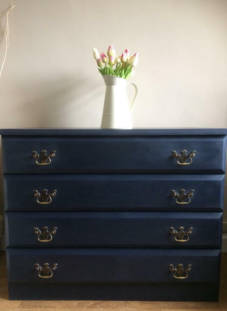 navy of blue eclectic drawers chest rogoodman bedroom com