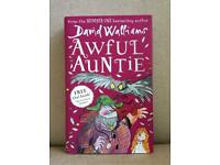 David Williams Awful Auntie in excellent condition, collection only