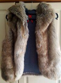 Fur Gilet ( 10-16 yer)