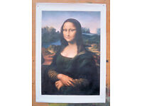 THE MONA LISA OIL PAINTING ART