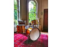 Vintage 1970s Premier Elite drum kit