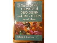 Book For Sale: The Organic Chemistry of Drug Design and Drug Action, Second, Hardcover, Silverman