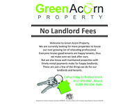 No Landlord Fees - Green Acorn Property