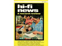 Hi-Fi magazines dated from the 1970's