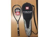 Brand New Wilson Triad Hammer Squash Racket