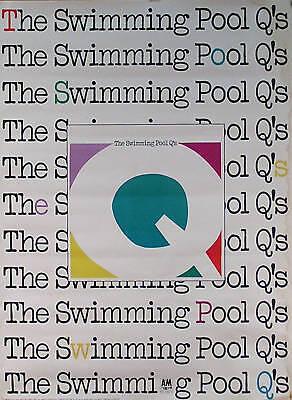The Swimming Pool Q's 1984 Rare Self Titled Promo Poster Original