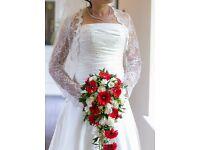 Wedding dress nearly new