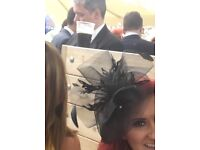 Ladies Julian McDonald fascinator worn once for a few hours