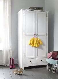 White Wardrobe still in flat pack and never assembled- collection only