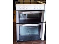 60cm Belling Ceramic Top Cooker, Double Oven / Fan Assisted -6 Months Full Warranty