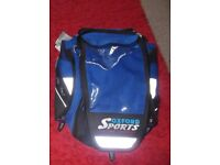 Oxford sports humpback lifetime tail pack or tank pack luggage new