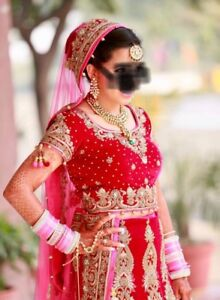 Indian bridal and reception Lenghas dress