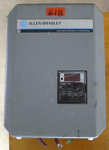 Allen Bradley Adj frequency ac motor drive 3hp