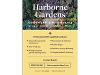 RHS-qualified Professional Gardener