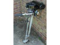 British Seagull Outboard Engine / Motor , Long Shaft , 2-3 HP, for Boat Dinghy Tender