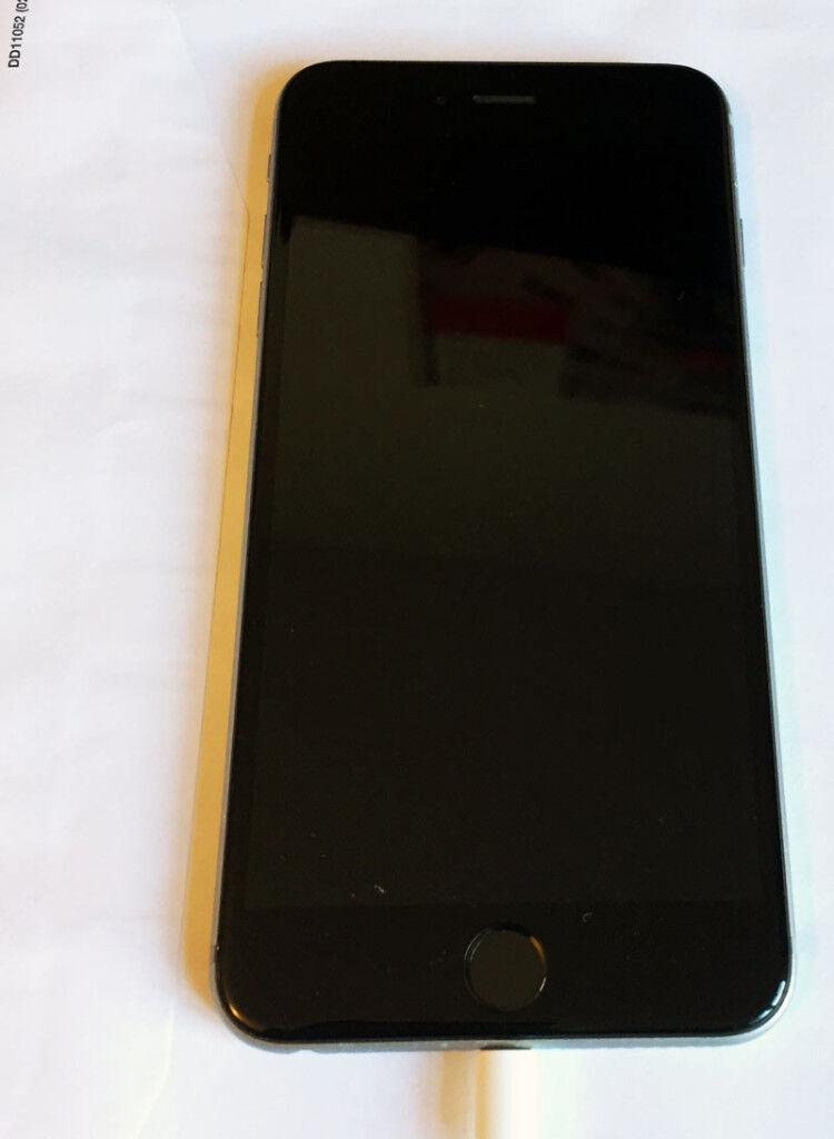 iPhone 6 Plus 16GB unlock.finger scanner not working. £225
