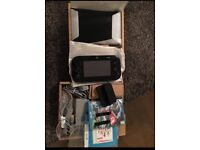 Nintendo Wii U console, 32g Premium Black Mario Kart 8, Boxed (Including Super Mario 3D World)