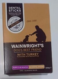 Wainwrights High Quality Puppy Dental Sticks x28