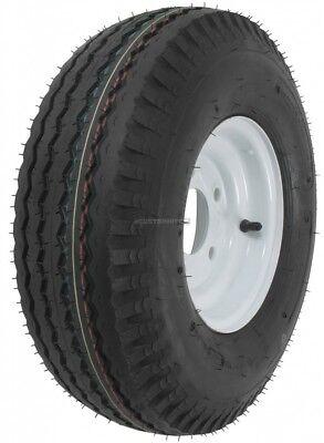 2-Pack Kenda Trailer Tire On Rim #5231 570-8 5.70-8 8 6 Ply LRC 5 Hole Lug White